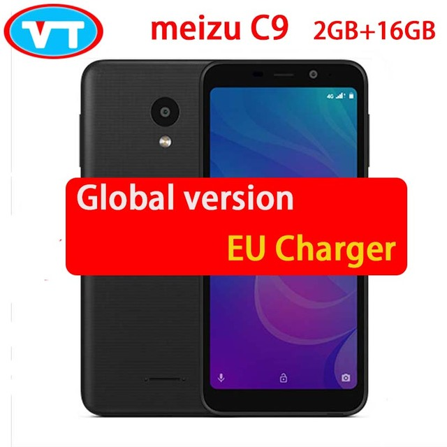 "Global version original Meizu C9 M9C Quad Core 2GB 16GB 5.45"" Full screen 16.0MP Camera 3000mAh cellphone"