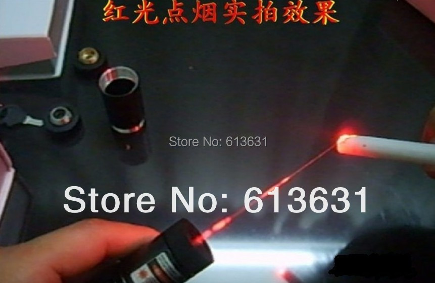Stable Quality High Power 650nm 5000m Red Laser Pointers Burning/Cigarettes Adjustable Focal Length Lazers