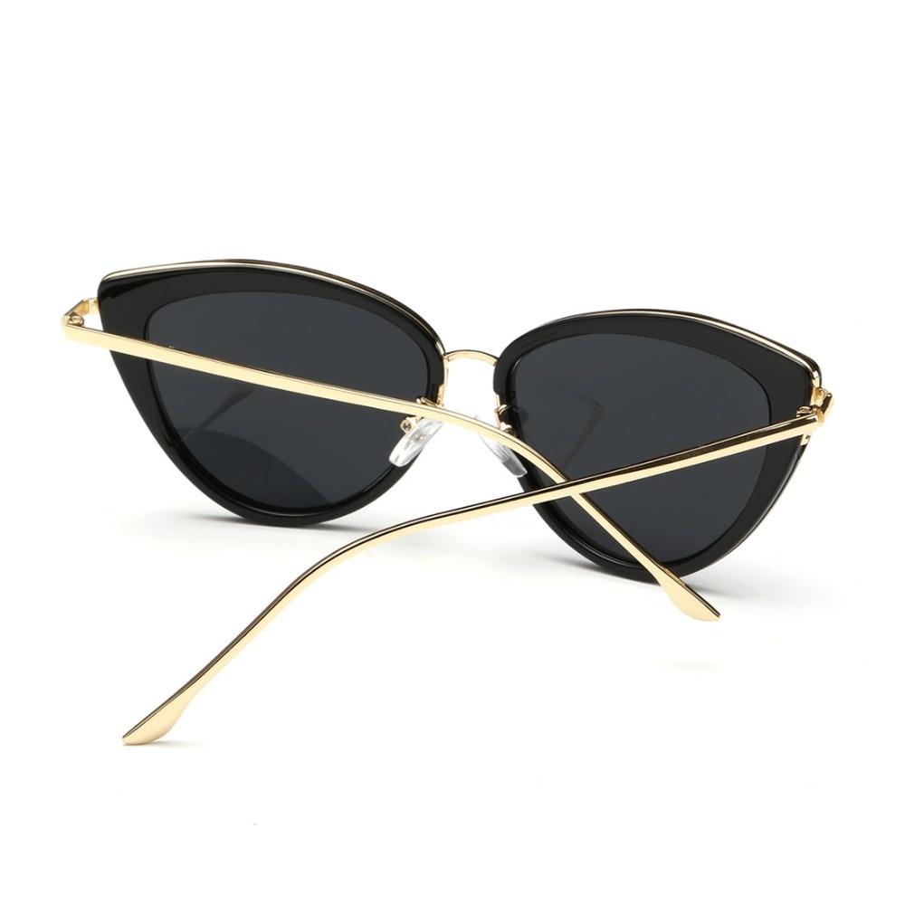 AEVOGUE Najmodniejsze Okulary dla Kobiety Luksusowe Okulary Przeciwsłoneczne Retro 2019 Polaryzacyjne UV400 4