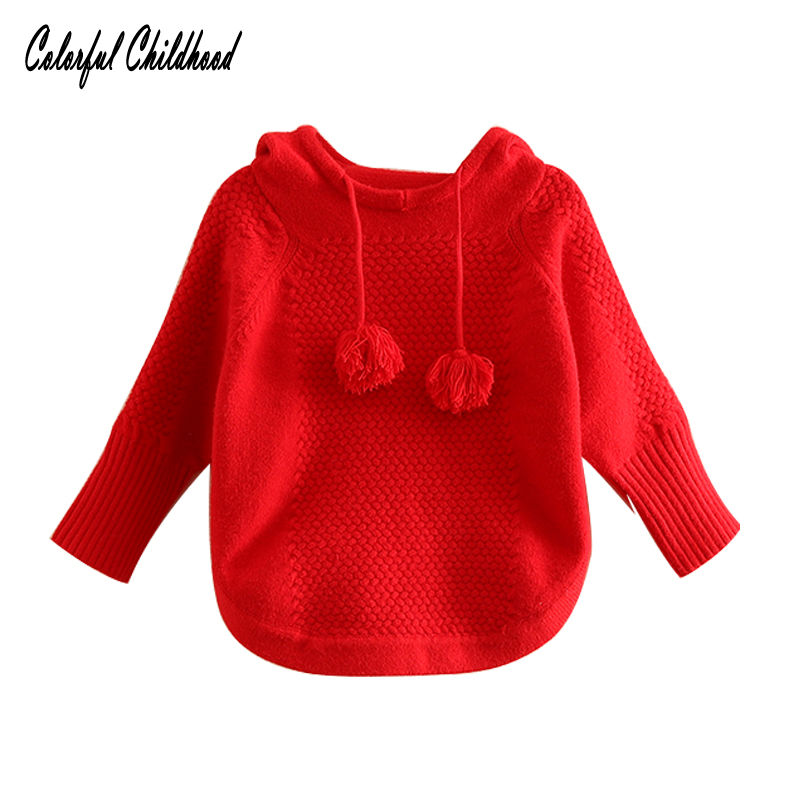 d1826dbcd Xmas baby clothes Toddler Kids Red Warm Cape Cloak Poncho Hoodie ...
