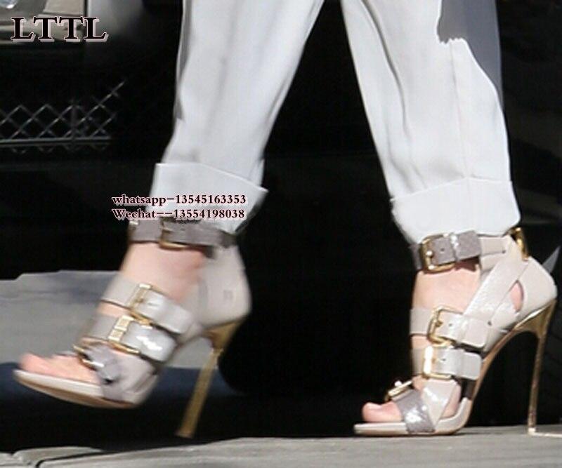 Évider Lame Métal As Femmes as En The Pompes Été Haute Lady Picture Picture Bottes Offre Chaussures Marque Sandales Talons Spéciale Bottines q5gaxppwYt