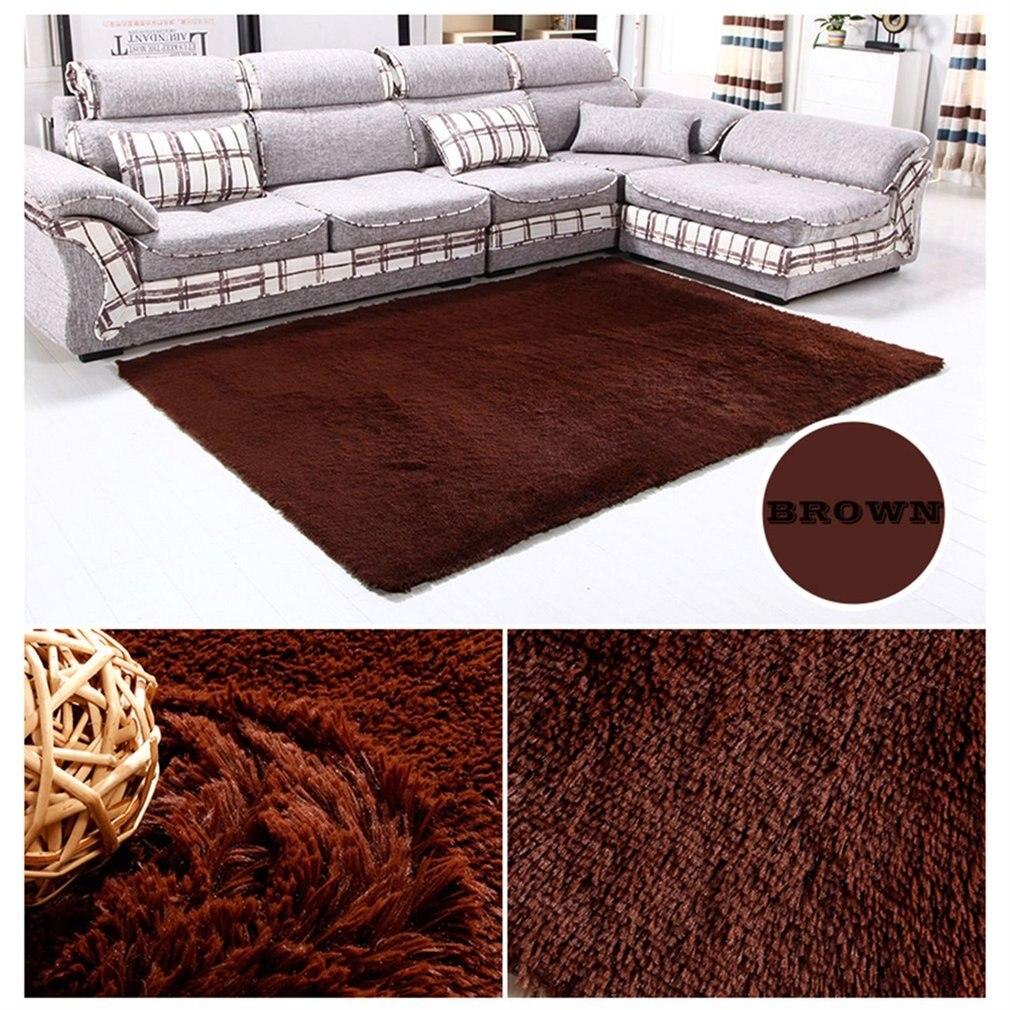 2018 Fluffy Rugs House Living Room Bedroom Carpet Anti