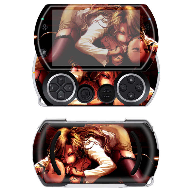 Free drop shipping Free drop shipping  High Quality Game Vinyl Skin Stciker For Sony PSP Go Made in China #TN-PGO-720