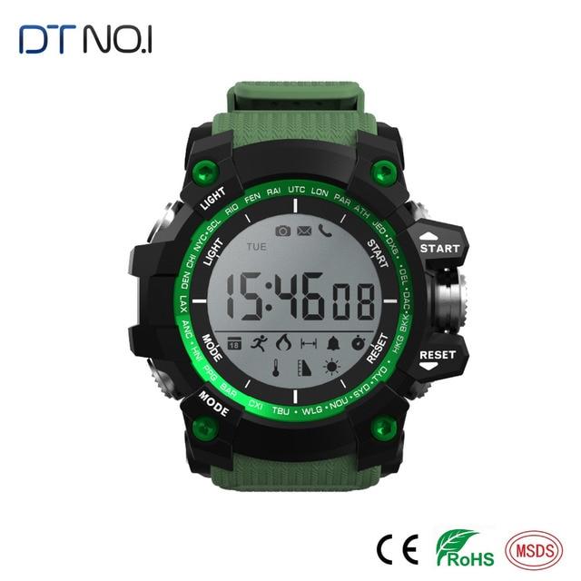Bluetooth Smart Watch Waterproof No.1 F2 Smartwatch Sleep Altitude Pressure Temperature Ultraviolet UV Pedometer Smart Watch