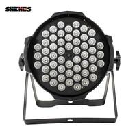 54x9W RGB LED Par Light DMX Stage Lights Par Can For Party KTV Disco DJ Aluminum Alloy And LED Par Windmill Lighting