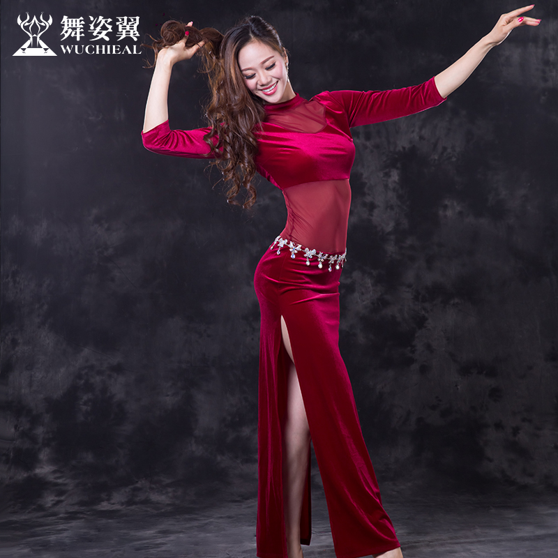 Belly Dance Costume 2018 New Cotton Limited Belly Dance Dress Wuchieal Brand Women Costumes For Wear 2677