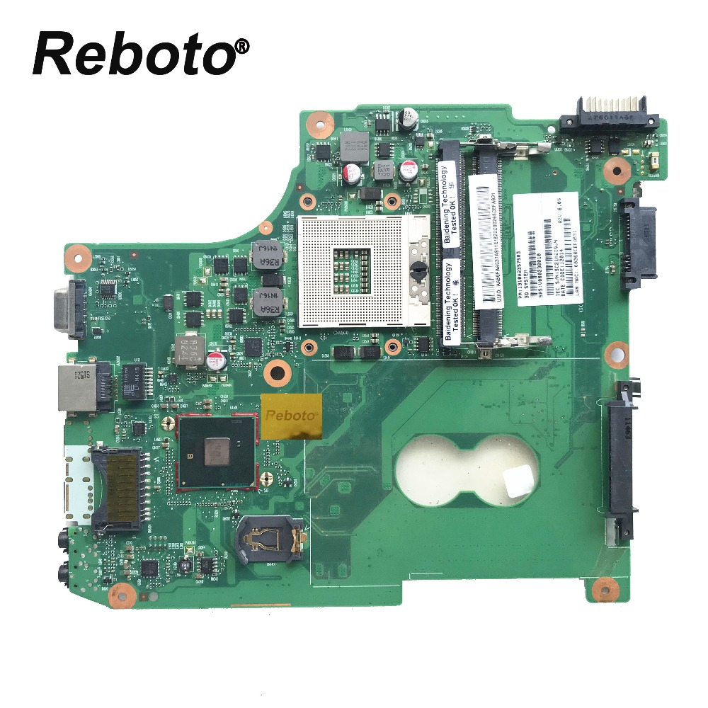 Original For Toshiba C600 C640 C645 Series Laptop Motherboard V000238010 HM55 6050A2357502 MB A02 T1 MB