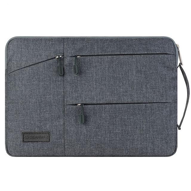 Alta Qualidade Laptop Bag 13.3 Polegada Nylon Saco de Computador À Prova D' Água para macbook pro 13 preço de atacado saco de escola para dell Inspiron