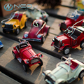 "NEO 11cm(4.3"") 9 Different Styles Mini Vintage Metal Car Model Handmade Retro Vehicle Figurine  Kid Toys Home Decor Ornament"
