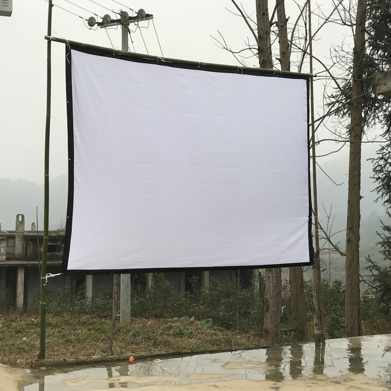 250Inches Projection Screen 16:9 Home Theater Projector Use Screen ...