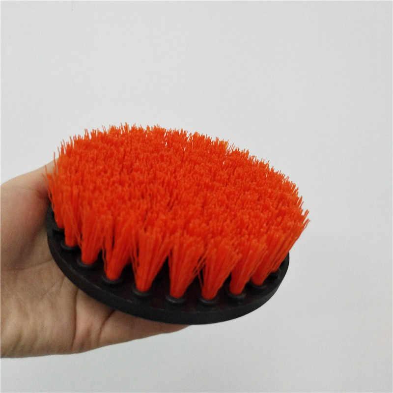 2 pc תרגיל מברשת כוח לשפשף מברשת נקי מברשת בשימוש תרגיל לשטיח ספה עור פלסטיק עץ משלוח חינם
