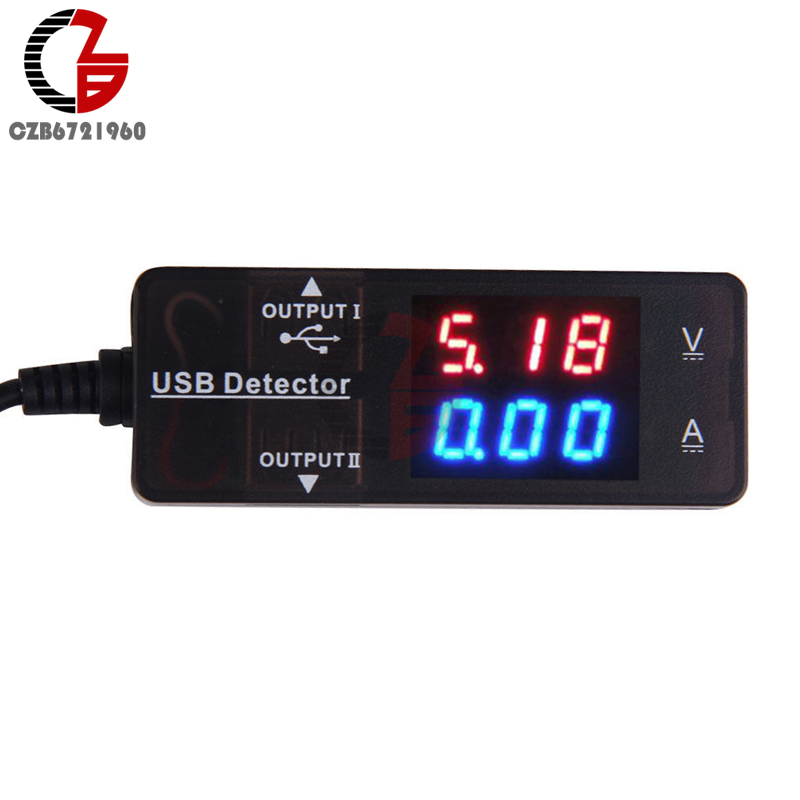 Mini Digital Voltmeter Ammeter 0.28 LED Display USB Detector Charger Doctor Power Current Voltage Tester Meter Monitor DC zndiy bry mini 0 91 oled usb charger power current voltage detector tester meter