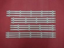 5 ensemble = 60 pièces Dorigine LED bande de rétro éclairage pour LG 47LN5200 47LN5400 47LA6200 6916L 1174A 1175A 1176A 1177A 1259A 1260A 1261A 1262A