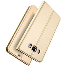 Quusimple Flip PU Leather Cover Case for samsung galaxy J7 J5 2016 J7 Prime C7 C5 Coque Ultra thin Full Protective Silicon Case
