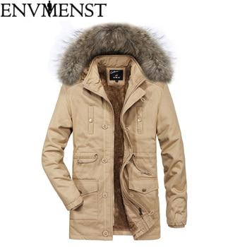 Envmenst New Arrival Autumn Trench Coat 2018 Men Fashion Men Simple Design Long Coat Top Quality Cotton Male Overcoat