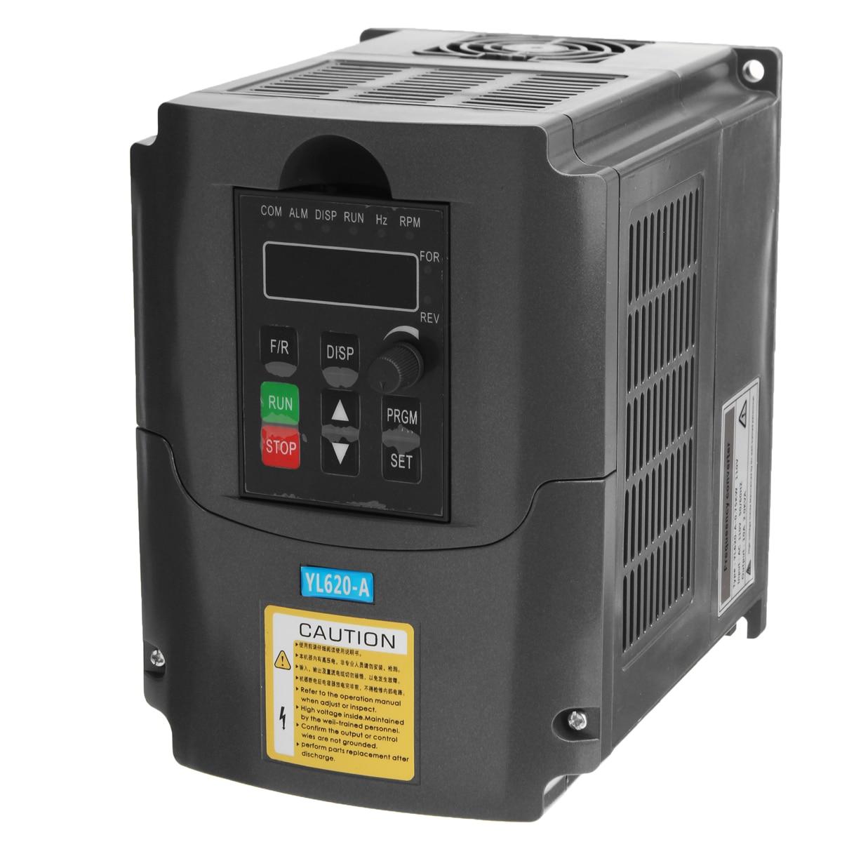 Здесь продается  AC Variable Frequency Inverter Converter 0.75KW 110V 3 Phase Output Built-in PLC Single Phase Space Voltage Vector Modulation  Электротехническое оборудование и материалы