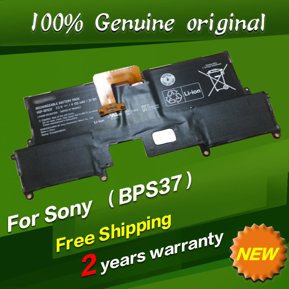 ФОТО Free shipping VGP-BPS37 BPS37 Original laptop Battery For SONY VAIO Pro 11 SVP11 SVP11214CXB SVP11227SCB 7.5V 4125MAH 31WH