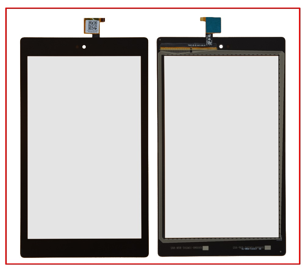OPesea 8.0'' For Amazon Kindle Fire HD8 HD 8 2017 2016 7th 6th Gen Touch Screen Digitizer Panel Sensor Glass Lens Replacement