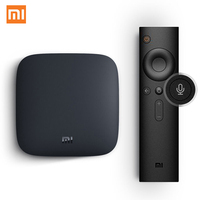 Global Version Xiaomi Mi TV Box 3 Android 6 0 Smart 4K Quad Core HD