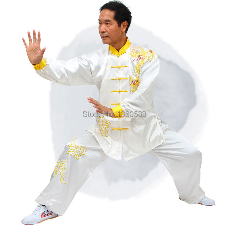 Customize Chinese Tai Chi clothing wushu Kungfu uniform Martial arts clothes Tai ji performance set embroidery for men women купить недорого в Москве