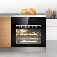 Household Embedded Electric Oven 70L Built in Electric Baker Multifunctional Electric Oven DS600A