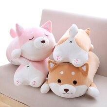 1pc 36cm Kawaii Fat Shiba Inu Dog Plush Toy Stuffed Soft Animal Cartoon Pillow Christmas Gift for Kids Baby Children