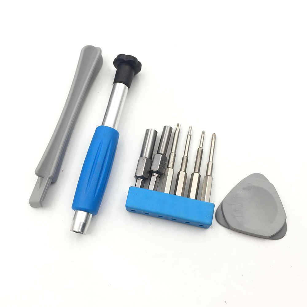 Juego de destornilladores herramientas de reparación para Nintendo Switch, nuevo 3DS, Wii U, NES, SNES, DS Lite, GBA, Gamecube