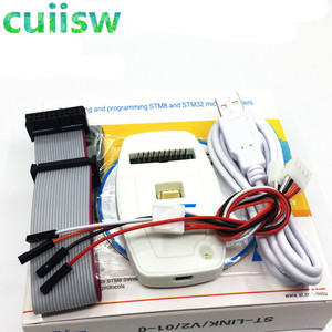 Новинка, эмулятор подключения STLINK STM8 STM32, 1 шт.|st-link v2|   | АлиЭкспресс
