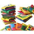Hot 1 Pc Bebê Macio Atividade Quit Livros de Pano Recém-nascidos Farfalhar de Som Chocalho Cama Carrinho de bebê Brinquedos Educativos infantis 0-12 Meses 2016