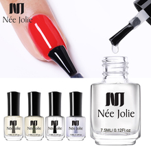 NEE JOLIE Nail Care Protector Polish Oil Base Top Coat Matte Shine Protector Polish for Nail Art Treatment Polish Varnish 7.5ml