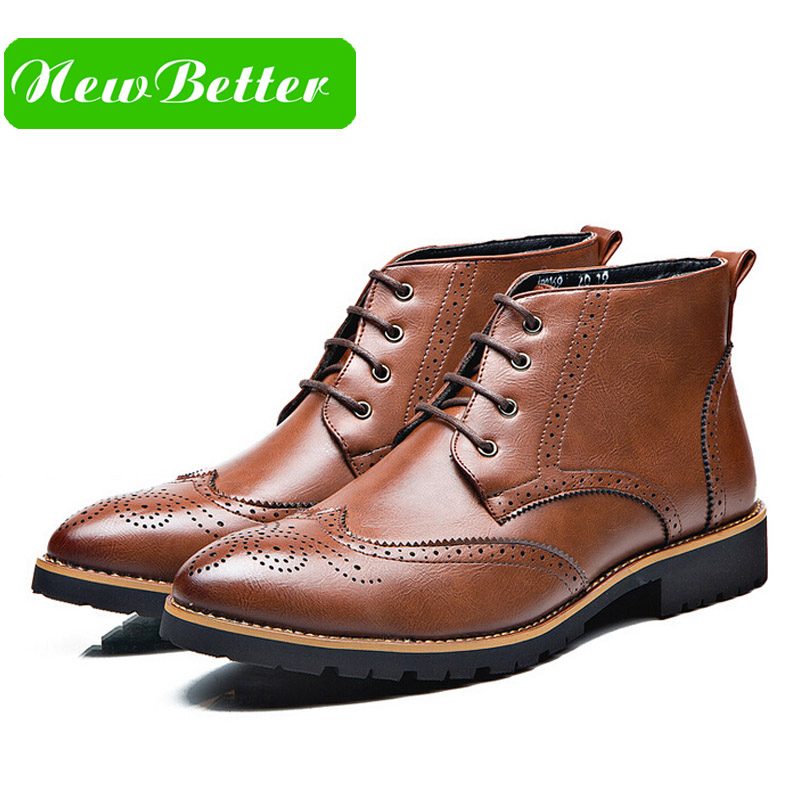 Popular Mens Lace up Dress Boots-Buy Cheap Mens Lace up Dress ...