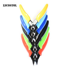 ZJCOSTOL Wire Cutter Diagonal Alicates Eletrônicos Alicates Tesoura DIY Ferramenta de corte Alicate Modelo Alicate Mini Alicate De Corte Diagonal Multicolor