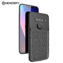 NEWDERY Battery Case for LG V40 ThinQ 5200mAh Slim Portable Power Charger Case with Raised Bezel Full Protection for LG V40(China)