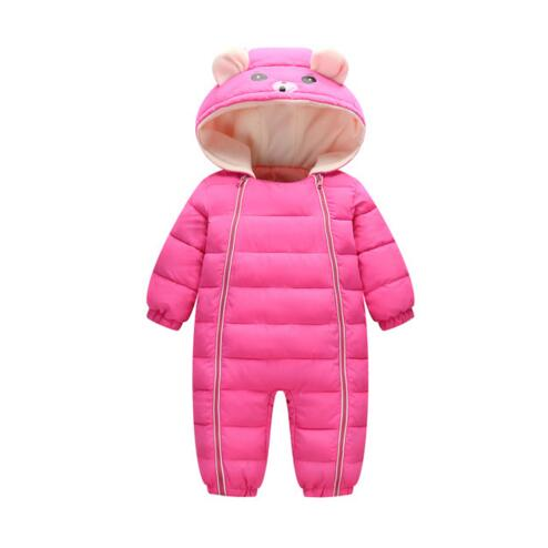 Baby Products Bebe Girl Bebe Boy Newborn Clothes Baby Costume Thick Warm Infant Baby Rompers Kids Winter clothes Jumpsuit Hoode