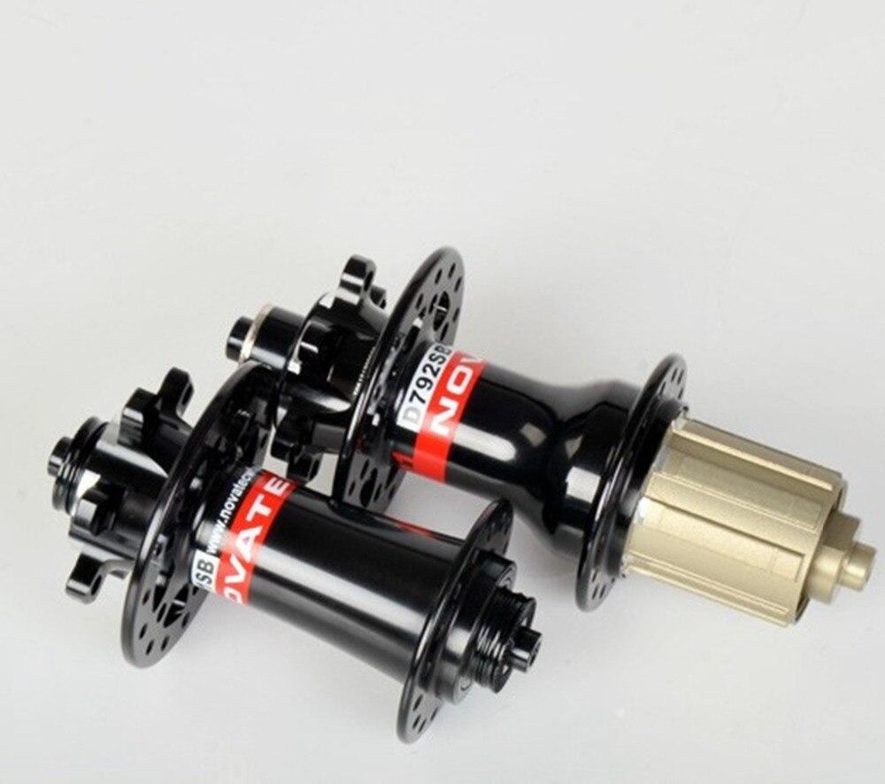 Novatec D791SB D792SB MTB disc brake hub Alloy disc barke thru axle compatible Novatec 771