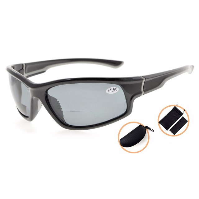 23a1513c08 TH6199PGSG Sports Bifocal Reading Glasses Polycarbonate Polarized Sunglasses  TR90 Unbreakable Baseball Running Fishing Driving