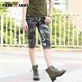 Новая Мода Лето Стиль колен Шорты Женщин Военный Стиль Камуфляж Плюс Размер Шорты Женские FreeArmy Бренд GK-9518B