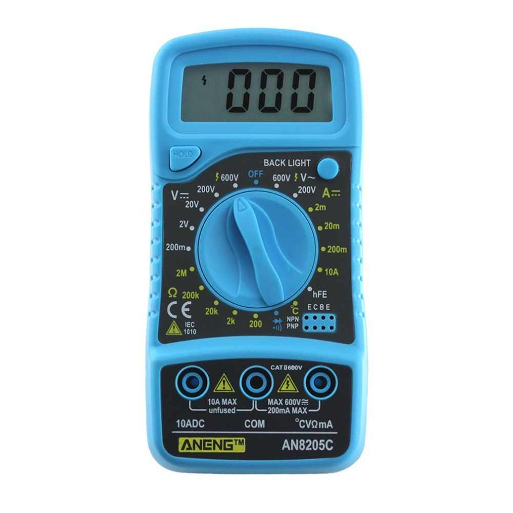 Detail Feedback Questions About A830l Backlight Digital Lcd Multimeter Ammeter Voltmeter Ohm Dc Ac Circuit Checker Professional An8205c Display Thermometry Meter