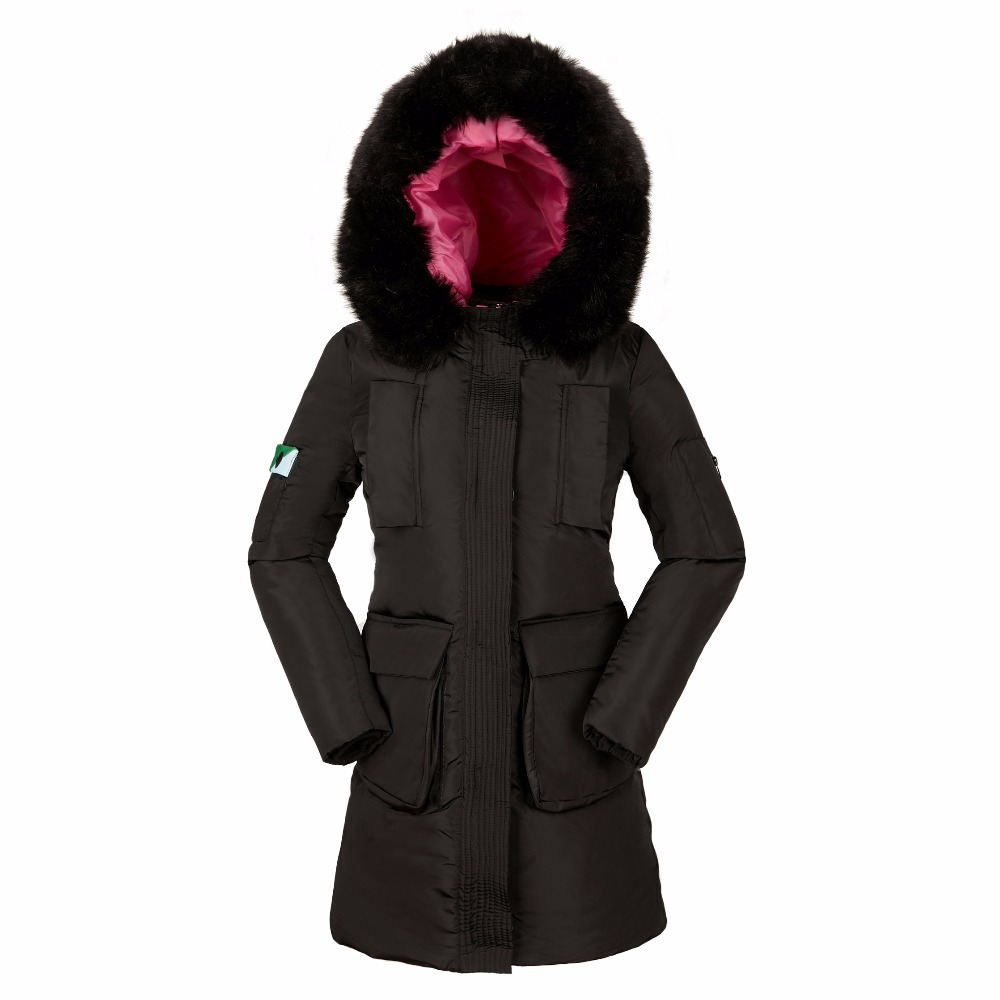 KUYOMENS Womens Winter Jackets And Coats 2017 Thick Warm Hooded Down Cotton Padded Parkas For Women's Winter Jacket Female Mante casual 2016 winter jacket for boys warm jackets coats outerwears thick hooded down cotton jackets for children boy winter parkas