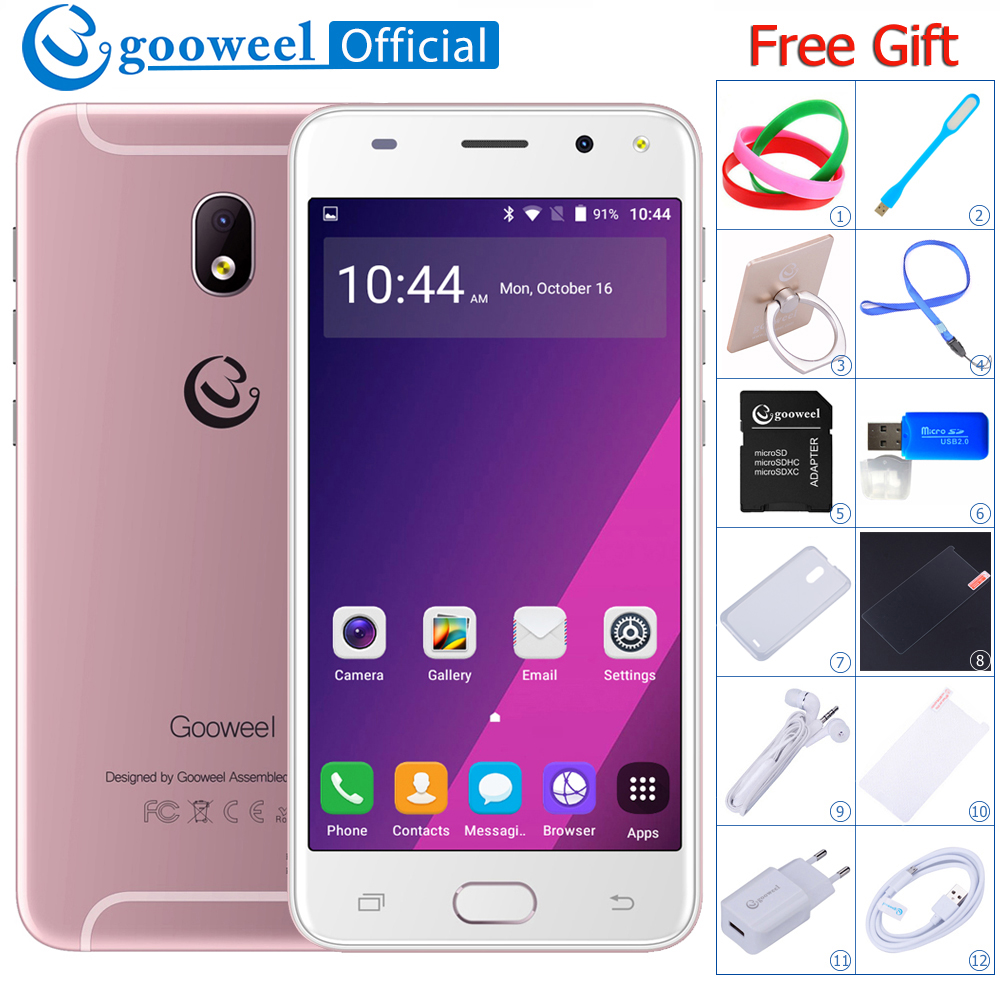 Gooweel S7 3G Smartphone FACE ID MTK6580 Quad core 1.3GHz 5.0 inch QHD mobile phone 5.0MP Camera GPS unlocked Cell phone