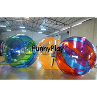 PVC Walk On Water Roller Air Tight PVC clear Walk on Water Balloons walking ball Zorbing Inflatable Water Roller Ball