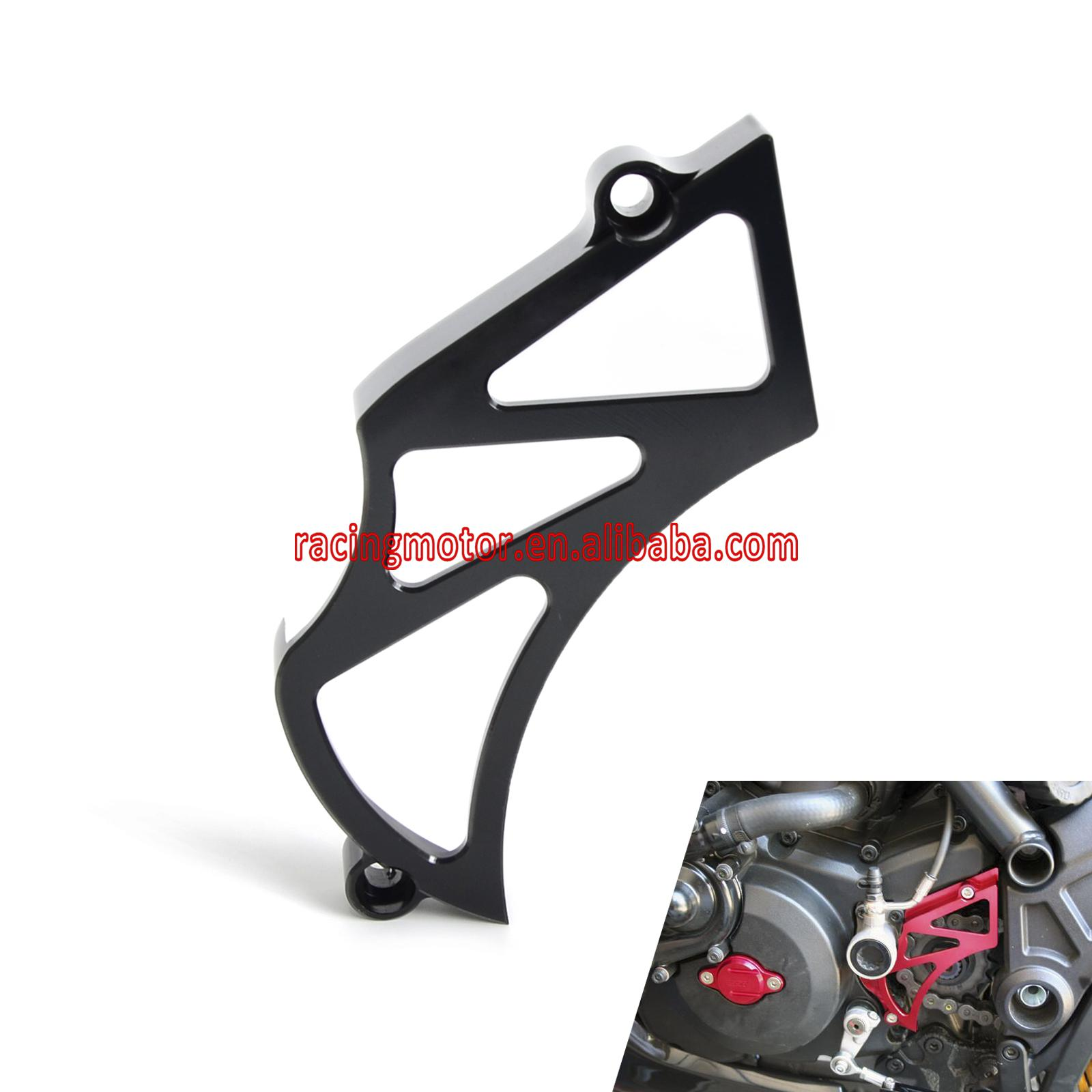Billet Front Sprocket Cover Chain Guard Cover for Ducati Diavel 2011 2016 696/796/1100 Diavel AMG All Year