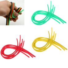 5 Pieces 3mm Soft Silicone Fishing Rig Tubing Line Connector Sleeves Tube for Hair Deep Drop Tackle Accessories