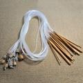 Marca New 12 Pcs Tapete Afegão Tunisino Carbonizado Bambu Crochet Ganchos Agulhas de Tecelagem Profissional Conjunto de Agulha de Tricô