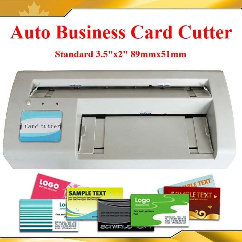 Business Card Cutter Electric Automatic Slitter Free 2000 ...