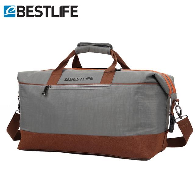 70b480a46 BESTLIFE Mens Duffle Bag/Large Waterproof Travel Bag Weekend Men Business  Portable Luggage Travel Duffle Bags Cross Body Bags
