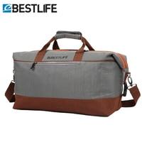 BESTLIFE Mens Duffle Bag/Large Waterproof Travel Bag Weekend Men Business Portable Luggage Travel Duffle Bags Cross Body Bags