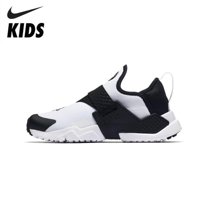 buy popular 63d82 b353d NIKE HUARACHE extrême PS Original chaussures de course pour enfants Sports  de plein air baskets confortables