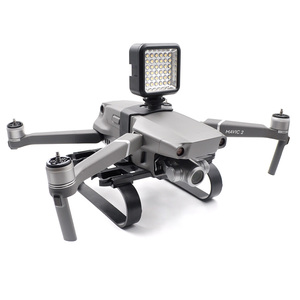 Image 2 - DJI Mavic 2 iniş Skid Gopro kamera LED ışık montaj/iniş takımı DJI Manvic 2 Pro/Zoom drone aksesuarları