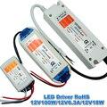 1 unids 12 V 6.3A 72 W fuente de Alimentación AC/DC Adaptador Conductor Llevado Transformador de Intensidad para la Tira LLEVADA RGB bombilla Luz de techo, envío libre